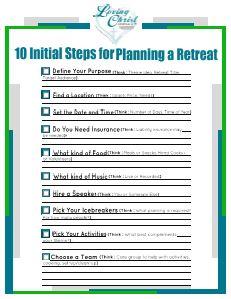 Retreat Planning Checklist