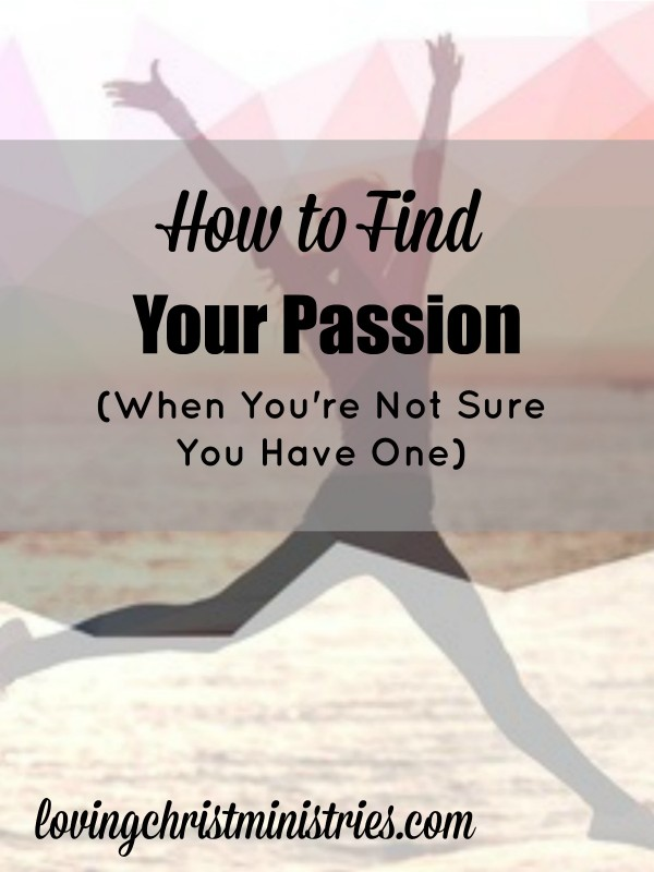 How do you find your passion when it doesn't seem you have one? I searched high and low for my own and then realized it's been in me all along.
