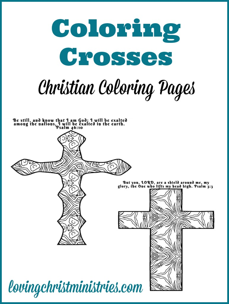 Coloring Crosses Coloring Pages Women's Ministry