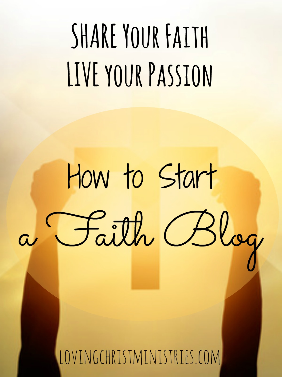 Learn how to start a faith blog so that you can share your faith and live your passion. This free email course will help you on your way.