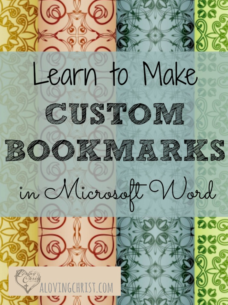 Learn how to create custom bookmarks for yourself, to give as gifts, or to offer as free printables on your blog. They're so much fun and really simple!