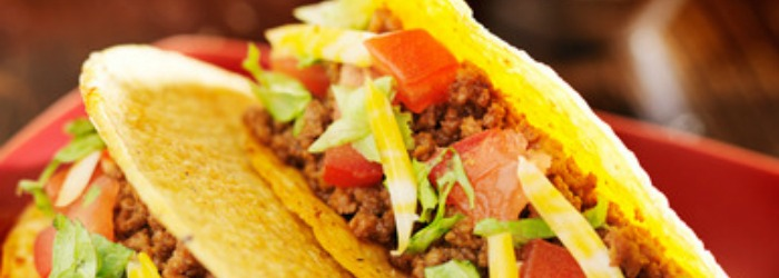 Make this simple slow cooker taco meat recipe and easily feed a large group. Easy, delicious, and perfect for women's retreats and other large gatherings.